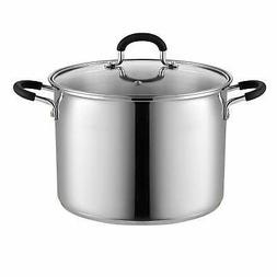 Cook N Home 02440 Stockpot Saucepot with Lid Induction Compa