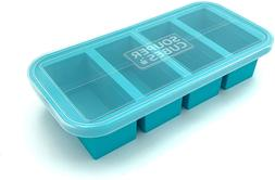 Souper Cubes 1 Cup Extra Large Silicone Freezing Tray with L
