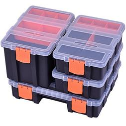 4 in 1 Tool Organizer Set Multi-purpose Toolbox with Removab