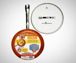 Copper Chef 10 Inch Round Frying Fry Pan Non Stick Induction