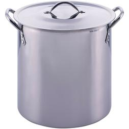 Mainstays 12 Quart Stockpot with Lid Stainless Steel