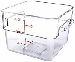 12sfscw square food storage container