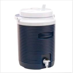 Rubbermaid 2-Gallon Beverage Cooler Water Jug Blue