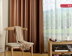 2 Panels- Curtains,Bedroom Blackout Curtains Panels - Window