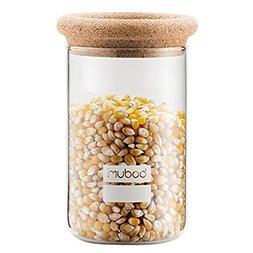 Bodum 8560-109-2 Yohki Storage Jar with Cork Lid, 0.6 L/20 o