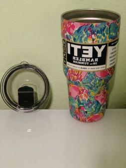 Yeti 30oz Stainless Steel Tumbler Flamingo With Magslider li