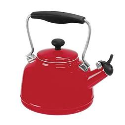 Chantal 37-VINT RE Enamel on Steel Vintage Teakettle, 1.7 qu