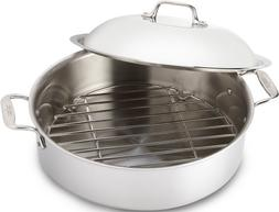 All-Clad 4515 Stainless Steel 3-Ply Bonded Dishwasher Safe F