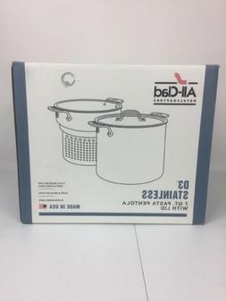 All-Clad 4807 Stainless Steel Tri-Ply Bonded Dishwasher Safe