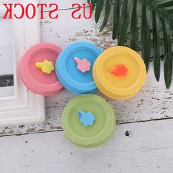 4PCS 70mm Plastic for Mason Jar Canning Caps Lids Replacemen
