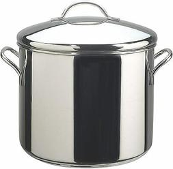 50008 Classic Stainless Steel Stock Pot/Stockpot with Lid -