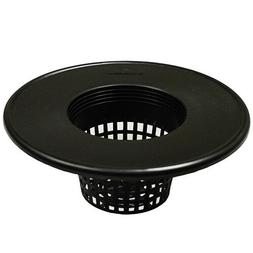 "6"" Round Basket Lid Net Pot with Wide Lip - Fits 3-5 Gallon"