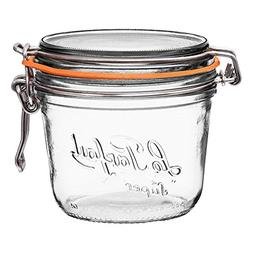 6 Le Parfait Super Terrines - Wide Mouth French Glass Preser