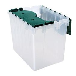 66497cldgn semi clear plastic storage