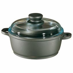 674030 TRADITION 7.5 QUART DUTCH OVEN WITH GLASS LID BERNDES