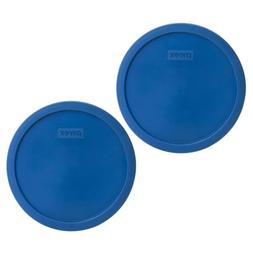 Pyrex 7401-PC 3 Cup Lake Blue Round Plastic Replacement Lid