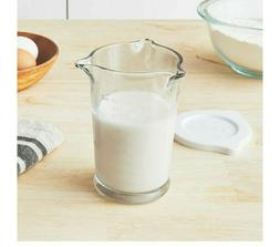Anchor Hocking 8 oz. Triple Pour Measuring Glass with Lid -