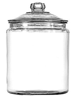 Anchor Hocking 11993ECOM 1-Gallon Heritage Hill Jar with Lid
