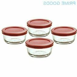 Anchor Hocking Classic Glass Food Storage Containers with Li