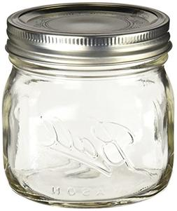 Ball Collection Elite Pint Mason Jar with Lids and Bands 4PK