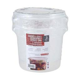 Cambro RFS6PPSW2190 6-Quart Round Food-Storage Container wit