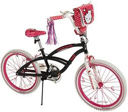 Hello Kitty 8108-60TJ Girls Bike, 20-Inch, Black/Pink/White