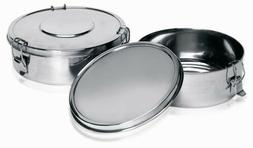 IMUSA USA PHI-T9220 Stainless Steel Flan Mold, 1.5-Quart, Si
