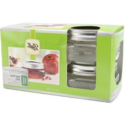 Ball Mason Wide Mouth Half Pint Jars - 8oz - 4 Jars Per Box