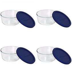 Pyrex 6017398 4 Cup Storage Plus® Round Dish With Plastic C