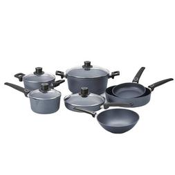 Woll Diamond Plus 11 Piece Nonstick Induction Cookware Set w