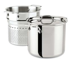 All-Clad 4807 Stainless Steel Tri-Ply  Dishwasher Safe 7-qt