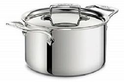 All-Clad D5 Polised 5-Ply Stainless Steel 4-qt Casserole wit