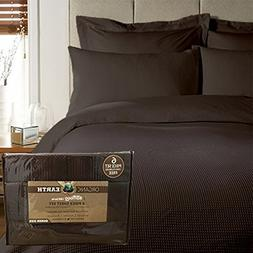 Organic Earth Aloe Vera Bamboo 1800 Series 6-Piece Sheet Set
