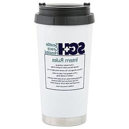 CafePress - Grey's Anatomy In - Stainless Steel Travel Mug,