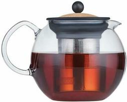 Assam Tea Press with Stainless Steel Filter, Bodum, 34 oz Co