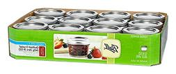 Ball Mason 4oz Quilted Jelly Jars with Lids and Bands, Set o