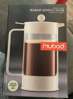 Bodum Bean French Press Coffeemaker with Locking Lever Lid,