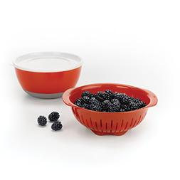 OXO Good Grips 3 Piece Berry Washing Bowl, Colander
