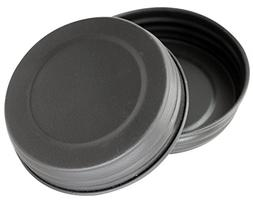 Black Vintage Reproduction Lids for Mason, Ball, Canning Jar