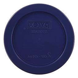 Pyrex Blue 2 Cup Round Storage Cover #7200-PC for Glass Bowl