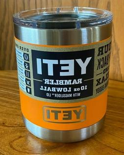 BRAND NEW AUTHENTIC YETI Rambler Lowball Tumbler 10oz with L