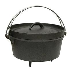 Cast Iron Dutch Oven - Size: 4 Quart
