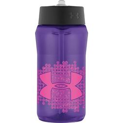 Under Armour Celestial Hydration Bottle with Straw Top, Flou