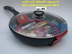 Ceramic Marble Coated Non Stick Cast Aluminium Fry Pan with