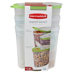 Rubbermaid Cereal Keepers  - Red