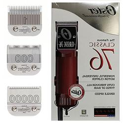 New Oster Classic 76 Hair Clipper 3-Blades