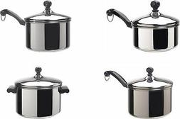 Farberware Classic Stainless Steel Covered Saucepans
