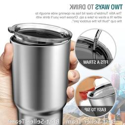 Coffee Travel Mug Thermos Stainless Steel Insulated 30 oz Cu