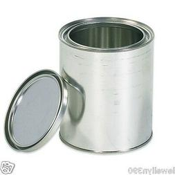 EMPTY 1 QUART PAINT CAN with LID   NEW