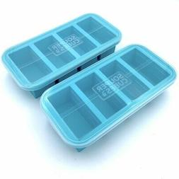 extra large silicone freezing 1 cup tray